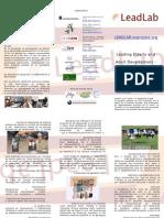 LeadLab Spanish Brochure