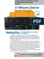 Intel and VMware Deliver Reliability