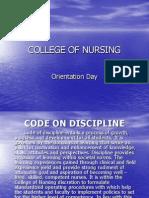 Code on Discipline 1