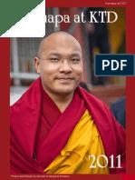 Karmapa at KTD - 2011