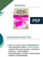 Presentación libro «Creacion colectiva», de David Casacuberta