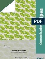 Comunicado IPEA 111