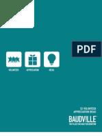 Volunteer Appreciation Ideas eBook Baudville