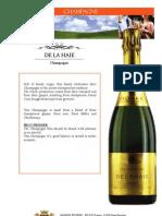 De La HAIE - Champagne - En