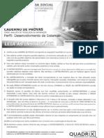 Prova - Dataprev 2011 - to de Sistemas