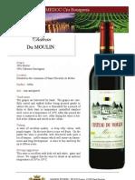 Du Moulin Medoc - En