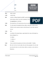 6min English Soldier Teachers PDF