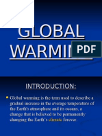 Slides of Global Warming.