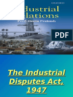 The Industrial Disputes Act, 1947 later part