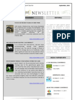 India Transport Portal Newsletter - September, 2011