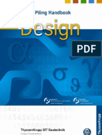Steel Piling Handbook Design