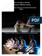 Dance Theatre Ireland Press Kit
