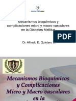 Mecanismos Complicaciones Vasculares Diabetes Mellitus
