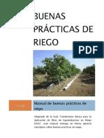 Buenas prácticas de riego - BPR