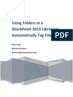Using Folders in a SharePoint 2010 Library to Automatically Tag Files