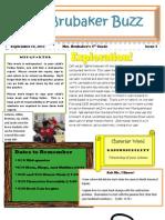 4th Grade Newsletter 91611
