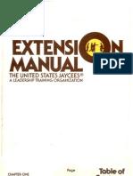 Extension Manual USJaycees
