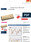 The Dollar Euro Rally Looks Vulnerable 16th September 2011 IG