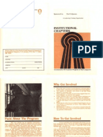 Institutional Chapters Brochure