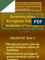 Bab 3 - Kemunculan Kerajaan Islam Di Andalus (711-1492)