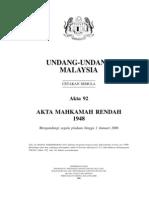 Akta 92