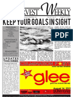 WHM Weekly Newsletter - 14 August 2011