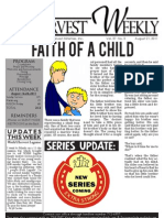 WHM Weekly Newsletter - 21 August 2011