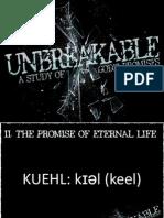 Unbreakable Week 2
