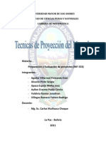 Tecnicas de Proyeccion Del Mercado 333