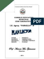 Plan Lector- i.e. Agropecuario Panaillo-b
