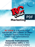 RC Cola Marketing Plan