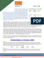 Newsletter 14 Oct 2008