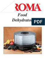 Dehydrator Instruction Manual
