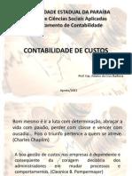CONTABILIDADE DE CUSTOS - Parte I - Bases do Conhecimento - Ádamo