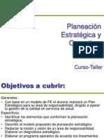 Planeacion Estrategica y Operativa