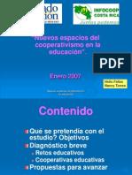 Helio Fallas Foro Nacional de Educacion Cooperativa
