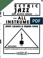Electric Jazz Jam Along Series - Vol.1 - Andy Lalasis & Frank Cook (Bb)