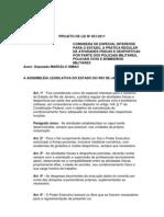 PROJETO DE LEI Nº 851