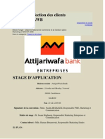 Etude de Defection Des Clients Entreprises AWB