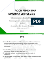 FTP en Centos Alejandra Arredondo 175666