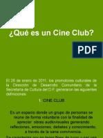 Qué es un Cine Club