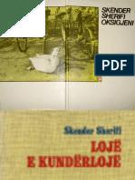 Skënder Sherifi - Dosja letrare komplete e autorit në shqip