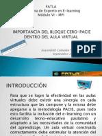 Modulo VI-MPI Bloque Cero-PACIE