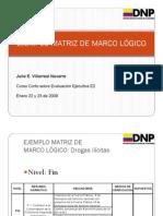 Ejemplo Matriz Marco Logico