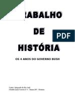 4 Anos Do Governo Bush