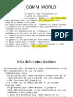 Acr 10 - MPI Comunicazione
