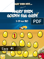 Angry Birds Complete Golden Eggs Guide