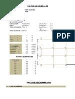 Edificio 8 Pisos Analisis Dinamico y Estatico