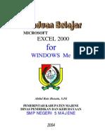belajar excel 2000
