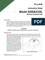 Toroide FLUKE_5500A Coil